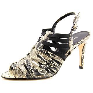 Vaneli Women's Elana Animal Print Sandals