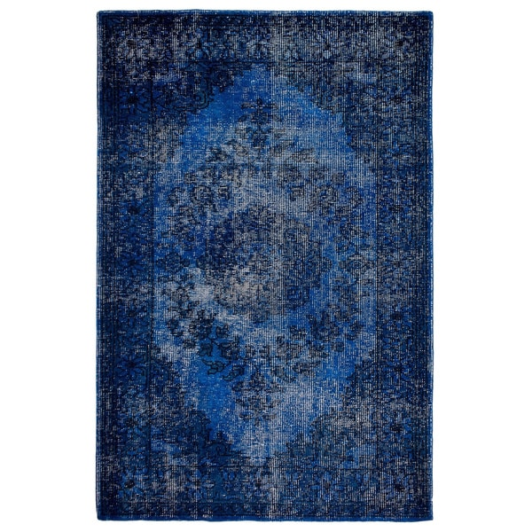Fab Habitat Estate Collection Indoor/ Outdoor Jal Mahal Blue Rug (3' x 5')
