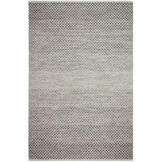 Fab Habitat Recyled Cotton Aurora Grey Rug (2' x 3')