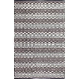 Fab Habitat Recycled Cotton Ethos Grey Rug (2' x 3')