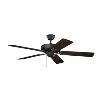 Kichler Lighting Traditional 52-inch Satin Natural Bronze Ceiling Fan