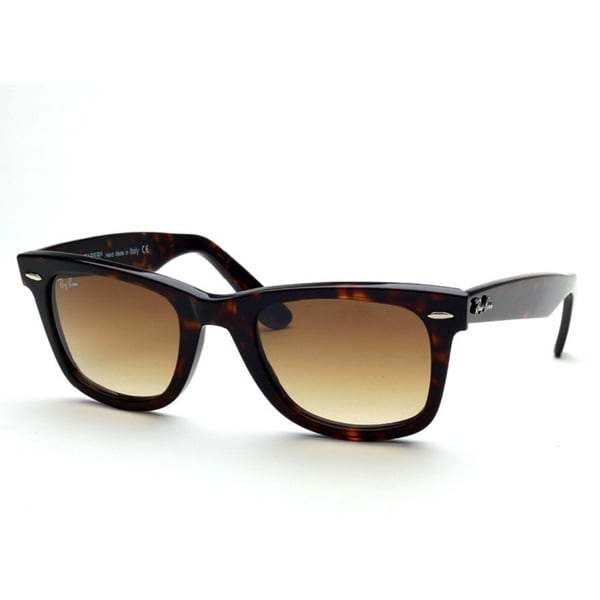 Ray-Ban RB2140 902/51 Original Wayfarer Classic Tortoise Frame Light Brown Gradient 50mm Lens Sunglasses