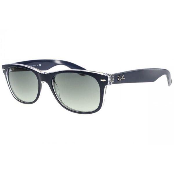 Clear Frame Ray Ban Wayfarer Glasses : Ray-Ban RB2132 614371 New Wayfarer Color Mix Gunmetal ...