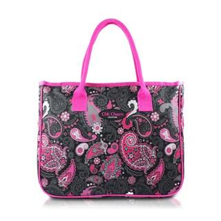 Jacki Design Chic Charm Pink Tote Bag