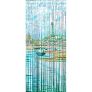 Lighthouse Beach Scene Curtain (Vietnam)