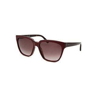 Tod's Women's Maroon Square Sunglasses