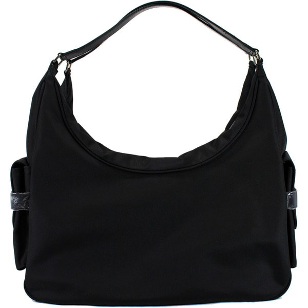 Marella Black Man Made Women's Hobo Handbag