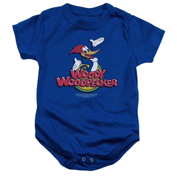 Woody Woodpecker/Woody Infant Snapsuit in Royal