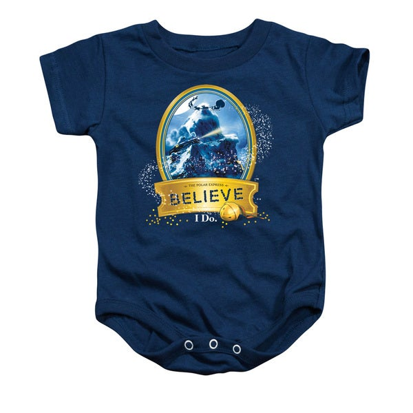 Polar Express/True Believer Infant Snapsuit in Navy