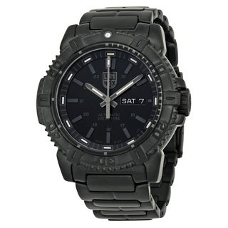 Luminox Men's 6502BO Mariner Black Watch
