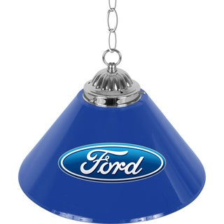 Ford 14 Inch Single Shade Bar Lamp - Ford Oval