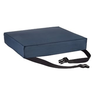 Gel-foam Seat Cushion with Safety Strap for Wheelchair