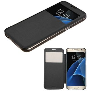 Insten Leather Case Cover For Samsung Galaxy S7 Edge