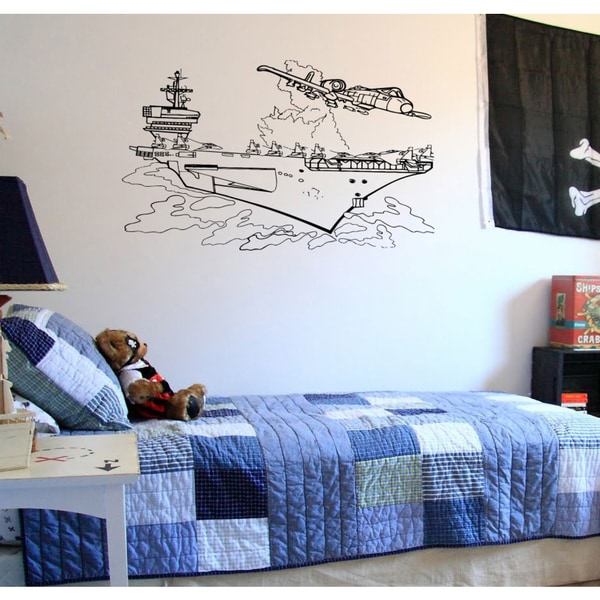 Ship aircraft Carriers ocean marine Wall Art Sticker Decal