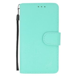 Insten Mint Leather Case Cover For Alcatel One Touch Fierce XL/ Idol 3 (5.5) Apple iPhone 6 Plus/ 6s Plus Huawei Raven LTE