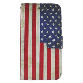 Insten Colorful United States National Flag Leather Case Cover with Stand/ Wallet Flap Pouch/ Photo Display For ZTE Prestige