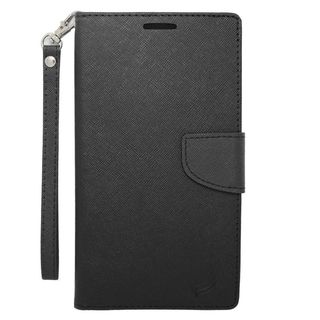 Insten Black Leather Case Cover For LG G Pro 2/ G Stylo/ G VISTA/ V10 Samsung Galaxy Note 4/ Note 5/ Note Edge/ S6 Edge Plus
