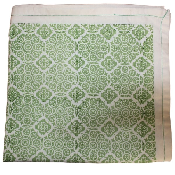 Earthy Green Table Cloth (India)