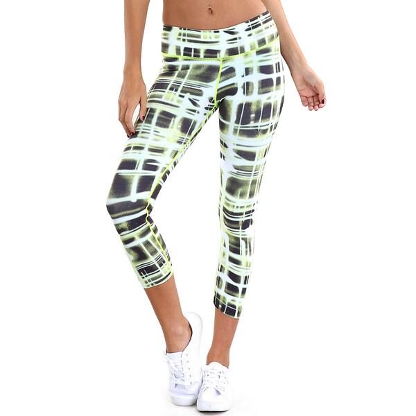 Nikibiki Apparel Multicolored Nylon Slim Fit Capri Leggings