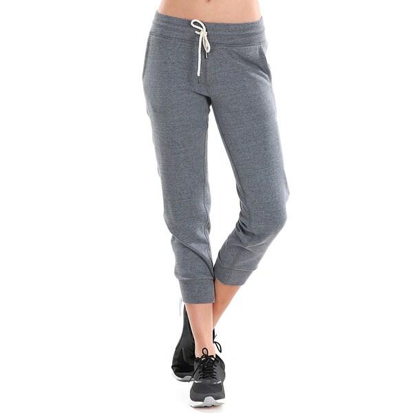 Nikibiki Women's Cotton/Polyester Activewear Fleece Drawstring Joggers