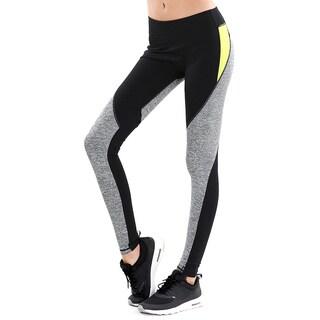Nikibiki Activewear Women's Melange Colorblocked Pants