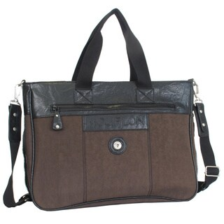 Mouflon Feathers Adjustable Strap Briefcase