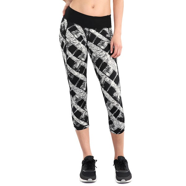 Nikibiki Activewear Women's Abstract Print Capri 18827634