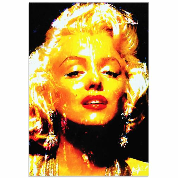 Mark Lewis 'Marilyn Monroe Restoration' Limited Edition Pop Art Print on Metal or Acrylic