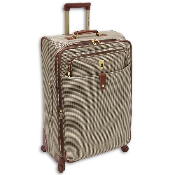 London Fog Chelsea Collection 29-inch Expandable Spinner Upright Suitcase