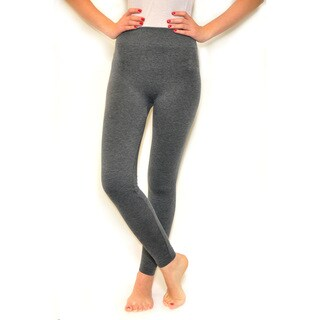 Riviera Women's French Terry Tan/Black/Grey/Silver Spandex/Polyester Legging