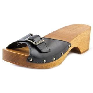 Kelsi Dagger Women's Reena Black Leather Sandals