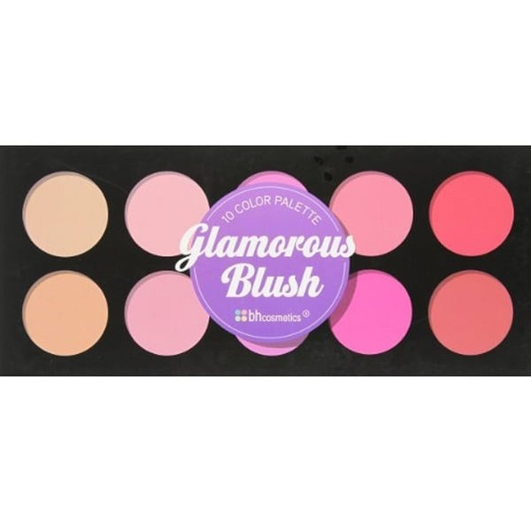 BH Cosmetics 10-color Glamorous Blush Palette