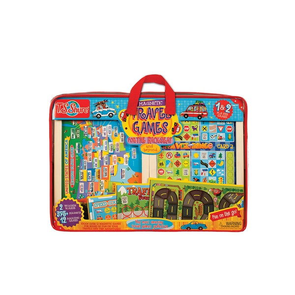Magnetic Travel Games for The Back Seat and Beyond 18828946