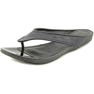 Kenneth Cole Reaction Women's Water Park Black Synthetic Sandals