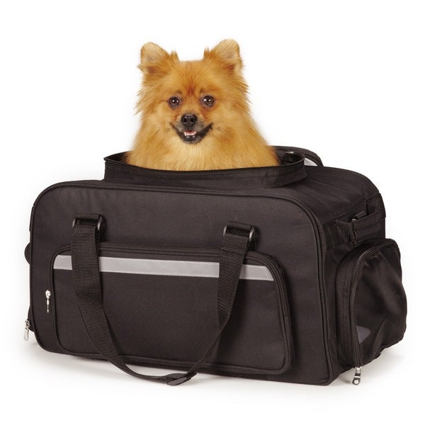 East Side Collection On-the-Go Carry-on Dog or Cat Carrier