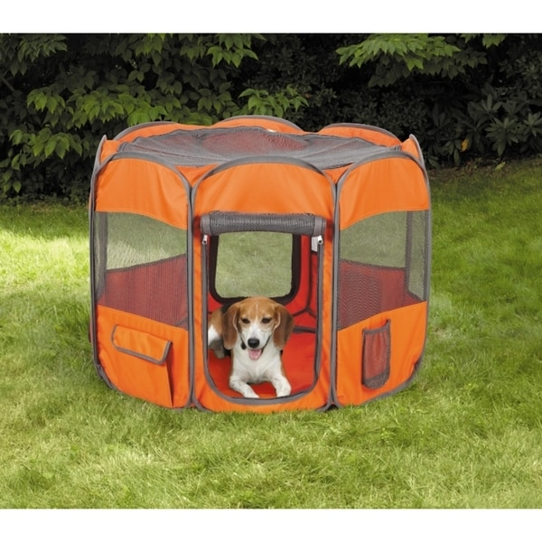 Insect Shield Fabric Ex Polyester 8-sided Pet Pen