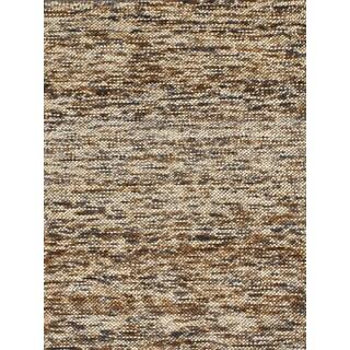 Handmade Flat Weave Brown/ Black Rug (4' X 6')