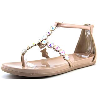 Kenneth Cole Reaction Women's 'Slim Key' Tan Patent Leather Sandals