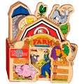 T.S. Shure A Day on the Farm Wooden Story Book