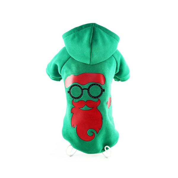 Pet Life LED Santa Shades Dog Sweater