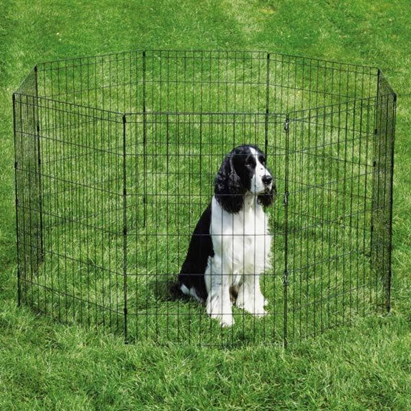 Proselect Sure Ex Black Dog Kennel and Pen