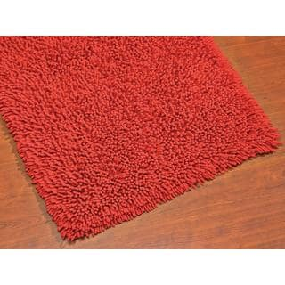Lollipop Solid Colored Cotton 20x32-inch Bath Rug
