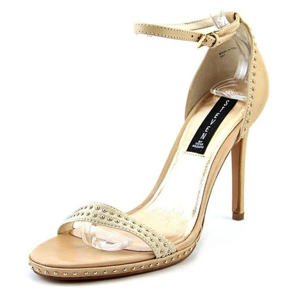 Steve Madden Women's Rogger Tan Leather Sandals