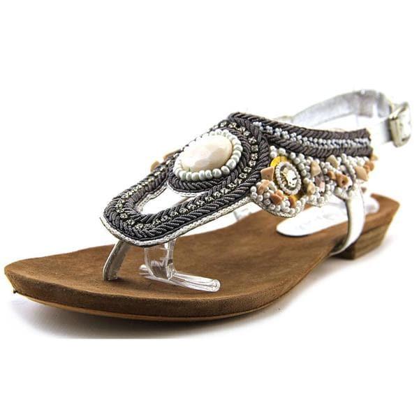 Matisse Women's Rune White Leather Sandals