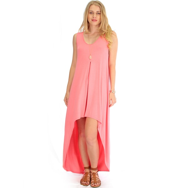 Lyss Loo High-Low Maxi Dress
