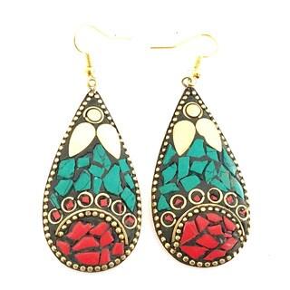 Tiara Global Designer Mosaic Earrings