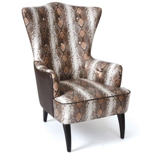 Hip Vintage Weiss Armchair