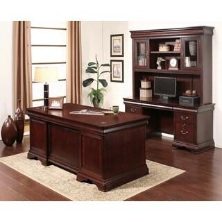 Arlington Executive Cherry 3 Piece Home Office