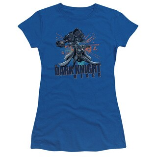 Dark Knight Rises/Batwing Junior Sheer in Royal