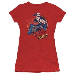 Batman/Bane Attack- Junior Sheer in Red